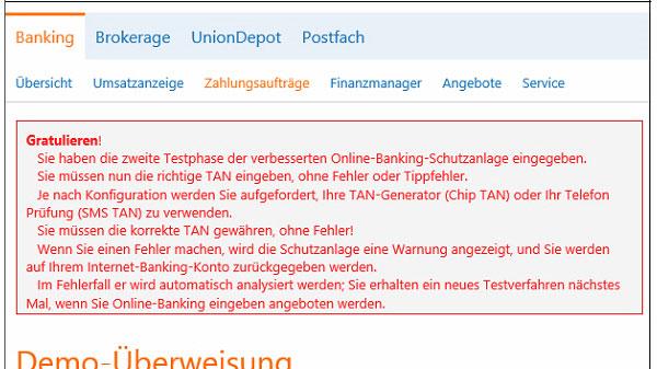 Phishing-Warnung Trojaner Dridex